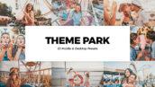 خرید پریست لایت روم و پریست کمرا راو فتوشاپ و لات رنگی Theme Park Lightroom Presets LUTs