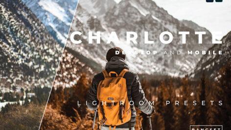 خرید پریست لایت روم 30 عددی تم شکلاتی Charlotte Lightroom Preset