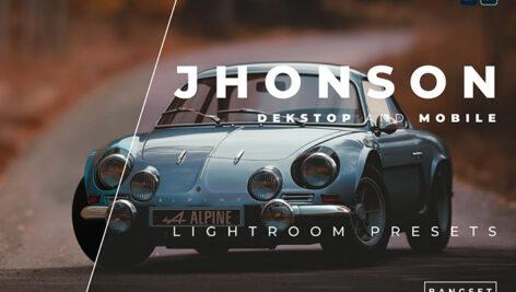 خرید 20 پریست لایت روم دسکتاپ و موبایل Jhonson Lightroom Preset