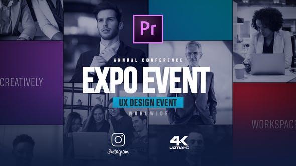 قویترین پروژه پریمیر 2021 رزولوشن 4K با موزیک معرفی کنفرانس The Event Promo
