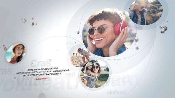 پروژه آماده افتر افکت حرفه ای 2021 با موزیک معرفی جوامع مجازی Connecting People