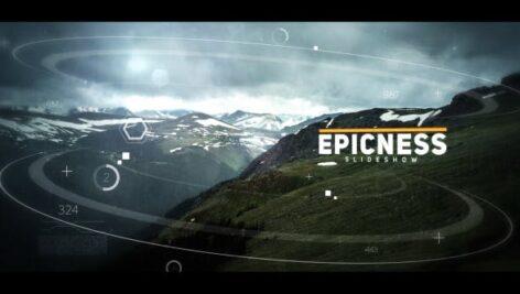 پروژه آماده افتر افکت ۲۰۲۱ با موزیک اسلایدشو سینمایی Cinematic Slideshow
