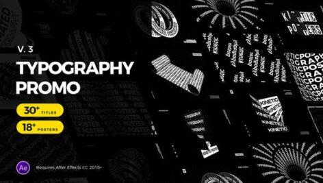 پروژه آماده افتر افکت 48 تایتل فوق حرفه ای Animated Typography Promo