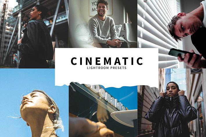 10 پریست رنگی حرفه ای لایت روم سینمایی Cinematic Lightroom Presets