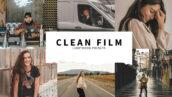 10 پریست رنگی حرفه ای لایت روم Clean Film Lightroom Presets
