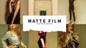 10 پریست رنگی لایت روم رنگ سینماتیک مات رنگی Matte Film Lightroom Presets