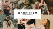 10 پریست رنگی لایت روم سینمایی رنگ گرم Warm Film Lightroom Presets