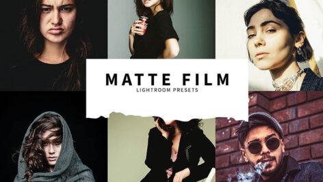 10 پریست لایت روم حرفه ای مات سینمایی Matte Film Lightroom Presets