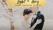 10 پریست لایت روم عروسی حرفه ای تم روشن Light And Airy Lightroom Presets
