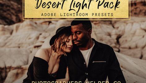 10 پریست لایت روم عروسی و پرتره تم کویر Desert Light Lightroom Presets