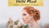 10 پریست لایت روم عروسی و پرتره رنگ پاستلی Pastel Mood Lightroom Presets