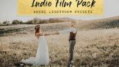 10 پریست لایت روم عروسی و پرتره سینمایی Indie Film Lightroom Presets