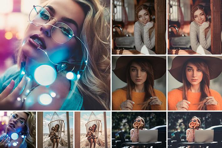 1600 پریست لایت روم 2021 آتلیه عکاسی HUGE Bundle Lightroom presets