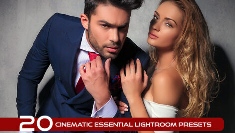 20 پریست لایت روم سینمایی حرفه ای Cinematic Essential Lightroom Presets