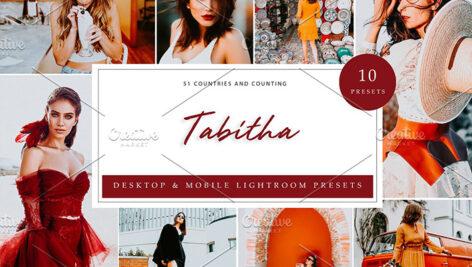 30 پریست رنگی لایت روم 2021 حرفه ای Tabitha Lightroom Presets