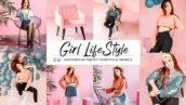 30 پریست لایت روم و پریست کمرا راو فتوشاپ تم سبک زندگی Girl Lifestyle Lightroom presets