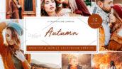 36 پریست لایت روم حرفه ای پاییز Autumn Lightroom Presets
