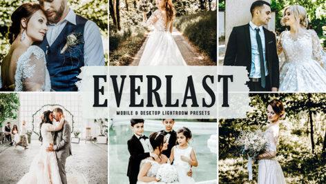 40 پریست لایت روم و پریست کمرا راو و اکشن فتوشاپ تم جاودانی Everlast Lightroom Presets