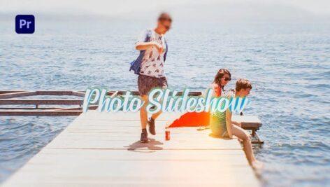 پروژه آماده پریمیر اسلایدشو با موزیک Bright Photo Slideshow