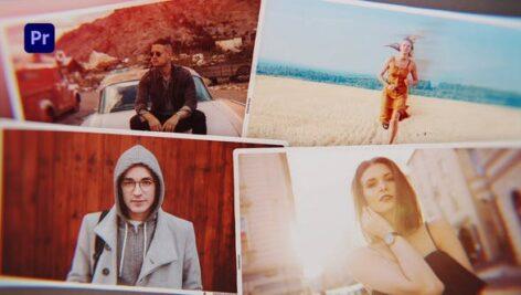 پروژه آماده پریمیر اسلایدشو حرفه ای تم مجلل Elegant Photo Slideshow