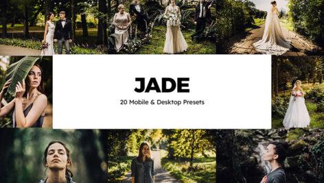 پریست لایت روم عروسی و پریست کمرا راو فتوشاپ و لات رنگی Jade Lightroom Presets & LUTs