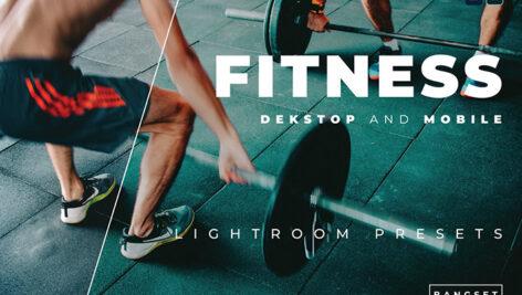 پریست لایت روم ورزشی فیتنس حرفه ای 20 تایی Fitness Lightroom Preset