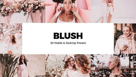 پریست لایت روم و پریست کمرا راو فتوشاپ و لات رنگی Blush Lightroom Presets & LUTs