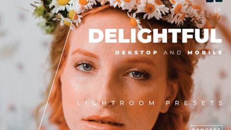 پریست لایت روم پرتره 20 تایی تم دلپذیر Delightful Lightroom Preset