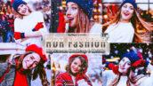 12 پریست لایت روم پرتره فشن و پریست کمرا راو فتوشاپ Premium Fashion Lightroom Presets