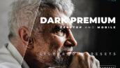 20 پریست رنگی لایت روم حرفه ای تم تیره Dark Lightroom Preset