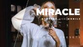 20 پریست رنگی لایت روم حرفه ای تم شگفت انگیز Miracle Lightroom Preset