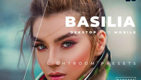 20 پریست رنگی لایت روم حرفه ای عکس پرتره Basilia Lightroom Preset