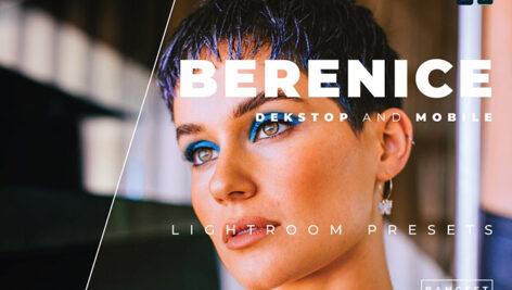 20 پریست رنگی لایت روم حرفه ای عکس پرتره Berenice Lightroom Preset