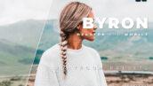 20 پریست رنگی لایت روم حرفه ای عکس پرتره Byron Lightroom Preset