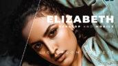 20 پریست رنگی لایت روم حرفه ای عکس پرتره Elizabeth Lightroom Preset
