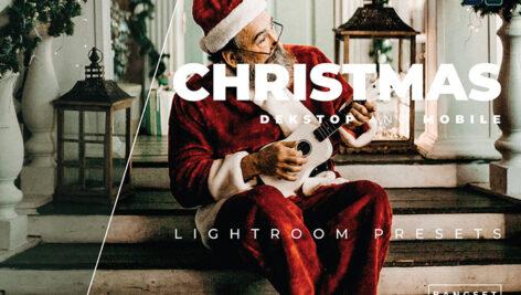20 پریست رنگی لایت روم حرفه ای عکس کریسمس Christmas Lightroom Preset