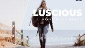 20 پریست رنگی لایت روم حرفه ای فشن و مدلینگ Luscious Lightroom Preset