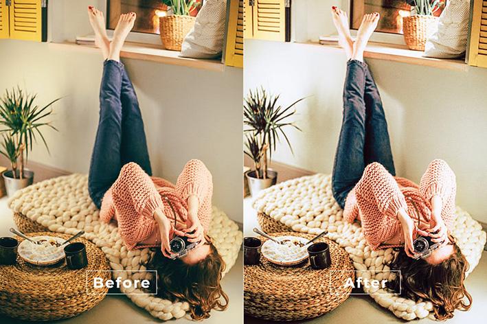 20 پریست رنگی لایت روم حرفه ای مدلینگ و فشن Dionne Lightroom Preset