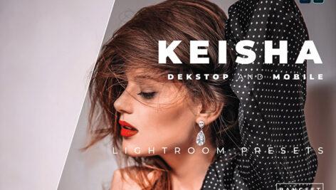 20 پریست رنگی لایت روم حرفه ای پرتره Keisha Lightroom Preset