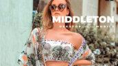 20 پریست رنگی لایت روم حرفه ای پرتره Middleton Lightroom Preset