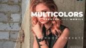 20 پریست رنگی لایت روم حرفه ای Multicolors Lightroom Preset