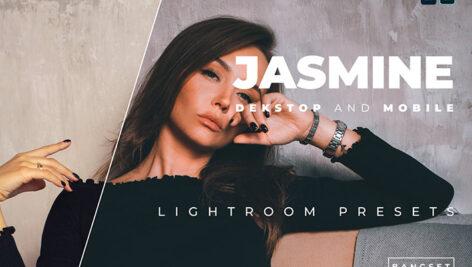 20 پریست رنگی لایت روم پرتره تم گل یاس Jasmine Lightroom Preset
