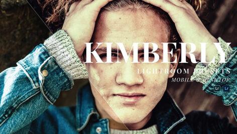 20 پریست سینماتیک حرفه ای لایت روم Kimberly Lightroom Presets