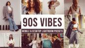 20 پریست لایت روم تمر رنگ قدیمی دهه نود 90s Vibes Lightroom Presets