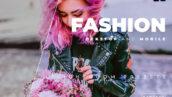 20 پریست لایت روم حرفه ای عکس فشن Fashion Lightroom Preset