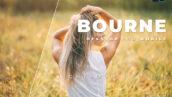 20 پریست لایت روم پرتره دسکتاپ و موبایل Bourne Lightroom Preset