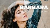 20 پریست لایت روم پرتره زیبا دسکتاپ و موبایل Barbara Lightroom Preset