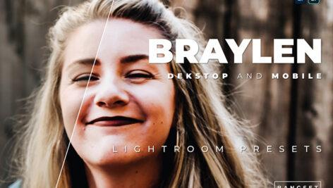 20 پریست لایت روم پرتره سینمایی فوق حرفه ای Braylen Lightroom Preset