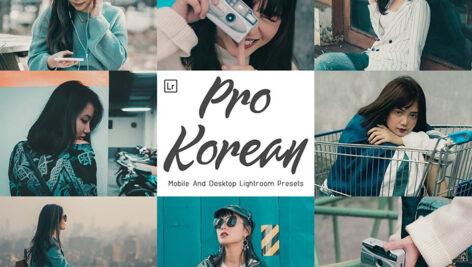 21 پریست لایت روم حرفه ای و پریست کمراراو Pro Korean Lightroom Presets
