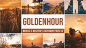 30 پریست لایت روم حرفه ای تم ساعت طلایی Golden Hour Lightroom Presets